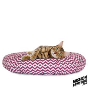 Donut Bed_60cm Pink copy